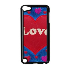 Love Theme Concept  Illustration Motif  Apple Ipod Touch 5 Case (black) by dflcprints