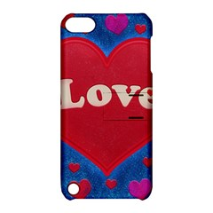 Love Theme Concept  Illustration Motif  Apple Ipod Touch 5 Hardshell Case With Stand by dflcprints