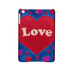 Love Theme Concept  Illustration Motif  Apple Ipad Mini 2 Hardshell Case by dflcprints