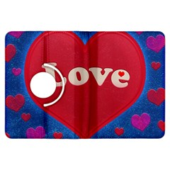 Love theme concept  illustration motif  Kindle Fire HDX 7  Flip 360 Case by dflcprints