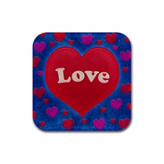 Love Theme Concept  Illustration Motif  Drink Coasters 4 Pack (square) by dflcprints