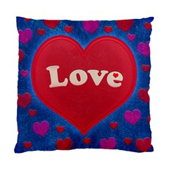 Love Theme Concept  Illustration Motif  Cushion Case (two Sided)  by dflcprints