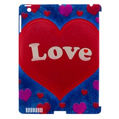Love Theme Concept  Illustration Motif  Apple Ipad 3/4 Hardshell Case (compatible With Smart Cover) by dflcprints