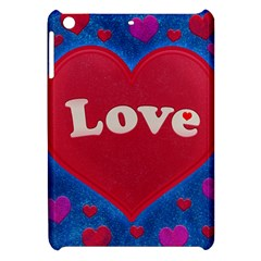 Love Theme Concept  Illustration Motif  Apple Ipad Mini Hardshell Case by dflcprints