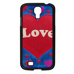 Love Theme Concept  Illustration Motif  Samsung Galaxy S4 I9500/ I9505 Case (black) by dflcprints
