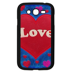 Love Theme Concept  Illustration Motif  Samsung Galaxy Grand Duos I9082 Case (black)