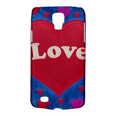 Love Theme Concept  Illustration Motif  Samsung Galaxy S4 Active (i9295) Hardshell Case