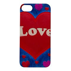 Love Theme Concept  Illustration Motif  Apple Iphone 5s Hardshell Case