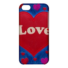Love Theme Concept  Illustration Motif  Apple Iphone 5c Hardshell Case