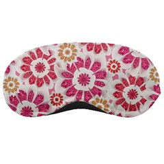Feminine Flowers Pattern Sleeping Mask by dflcprints