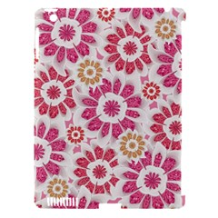 Feminine Flowers Pattern Apple Ipad 3/4 Hardshell Case (compatible With Smart Cover) by dflcprints