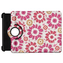 Feminine Flowers Pattern Kindle Fire Hd 7  (1st Gen) Flip 360 Case by dflcprints