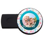 summer - USB Flash Drive Round (1 GB)