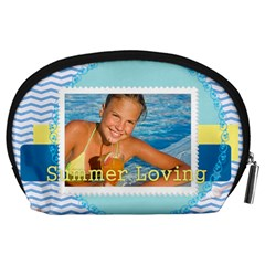 Summer By Summer Time    Accessory Pouch (large)   Ag88u4h8t50n   Www Artscow Com Back