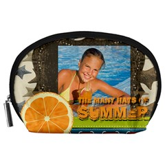 Summer By Summer Time    Accessory Pouch (large)   J7t9vp2u2cae   Www Artscow Com Front
