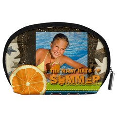 Summer By Summer Time    Accessory Pouch (large)   J7t9vp2u2cae   Www Artscow Com Back