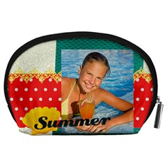 Summer By Summer Time    Accessory Pouch (large)   Lz1sb6exyh2m   Www Artscow Com Back