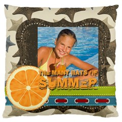 Summer By Summer Time    Large Cushion Case (two Sides)   B6i3n5rftce3   Www Artscow Com Back