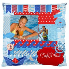 Summer By Summer Time    Large Cushion Case (two Sides)   I2d39wdhusai   Www Artscow Com Back