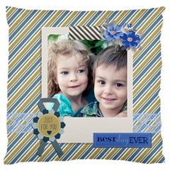 Summer By Summer Time    Large Cushion Case (two Sides)   A8n59ke6aj2a   Www Artscow Com Back