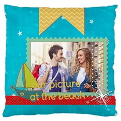 Summer By Summer Time    Large Cushion Case (two Sides)   Xzwx3523onc8   Www Artscow Com Front