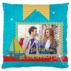 Summer By Summer Time    Large Cushion Case (two Sides)   Xzwx3523onc8   Www Artscow Com Back