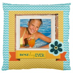 Summer By Summer Time    Large Cushion Case (two Sides)   471ttg7q212h   Www Artscow Com Back