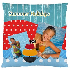 Summer By Summer Time    Large Cushion Case (two Sides)   T6p9arcbe8mi   Www Artscow Com Front