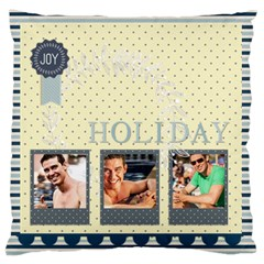 Summer By Summer Time    Large Cushion Case (two Sides)   9hepmzsnidmr   Www Artscow Com Front