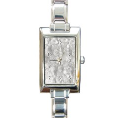 Abstract In Silver Rectangular Italian Charm Watch by StuffOrSomething