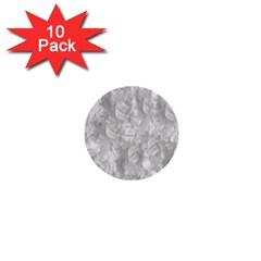 Abstract In Silver 1  Mini Button (10 Pack) by StuffOrSomething