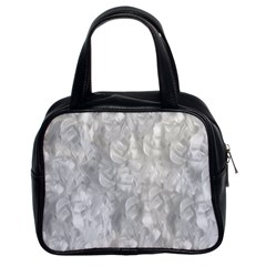 Abstract In Silver Classic Handbag (two Sides) by StuffOrSomething