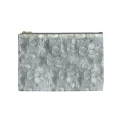 Abstract In Silver Cosmetic Bag (medium) by StuffOrSomething