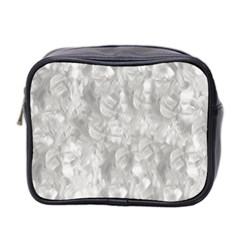 Abstract In Silver Mini Travel Toiletry Bag (two Sides) by StuffOrSomething