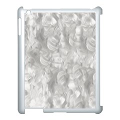 Abstract In Silver Apple Ipad 3/4 Case (white) by StuffOrSomething