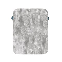 Abstract In Silver Apple Ipad Protective Sleeve by StuffOrSomething
