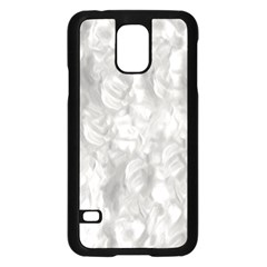 Abstract In Silver Samsung Galaxy S5 Case (Black) by StuffOrSomething