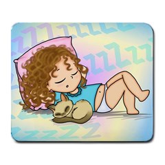 Sleepy Time Large Mouse Pad (rectangle) by CaterinaBassano