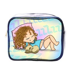 Sleepy Time Mini Travel Toiletry Bag (one Side) by CaterinaBassano