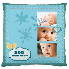 Baby By Baby   Large Cushion Case (two Sides)   Blgjr4rgn77u   Www Artscow Com Back