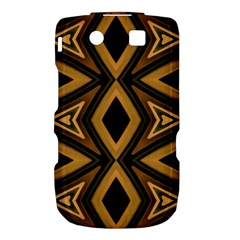 Tribal Diamonds Pattern Brown Colors Abstract Design BlackBerry Torch 9800 9810 Hardshell Case  by dflcprints