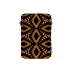 Tribal Diamonds Pattern Brown Colors Abstract Design Apple Ipad Mini Protective Sleeve by dflcprints