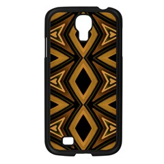 Tribal Diamonds Pattern Brown Colors Abstract Design Samsung Galaxy S4 I9500/ I9505 Case (black) by dflcprints