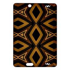 Tribal Diamonds Pattern Brown Colors Abstract Design Kindle Fire Hd 7  (2nd Gen) Hardshell Case by dflcprints