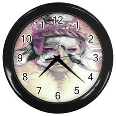 Tentacles Of Pain Wall Clock (black) by FunWithFibro