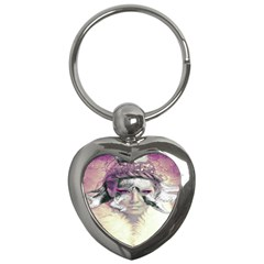 Tentacles Of Pain Key Chain (heart) by FunWithFibro