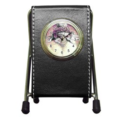 Tentacles Of Pain Stationery Holder Clock by FunWithFibro