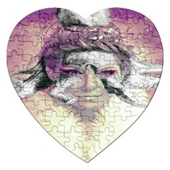 Tentacles Of Pain Jigsaw Puzzle (heart) by FunWithFibro