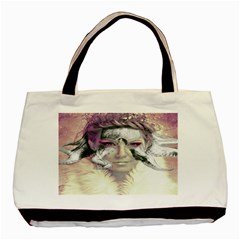 Tentacles Of Pain Twin Sided Black Tote Bag by FunWithFibro