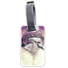 Tentacles Of Pain Luggage Tag (two Sides) by FunWithFibro